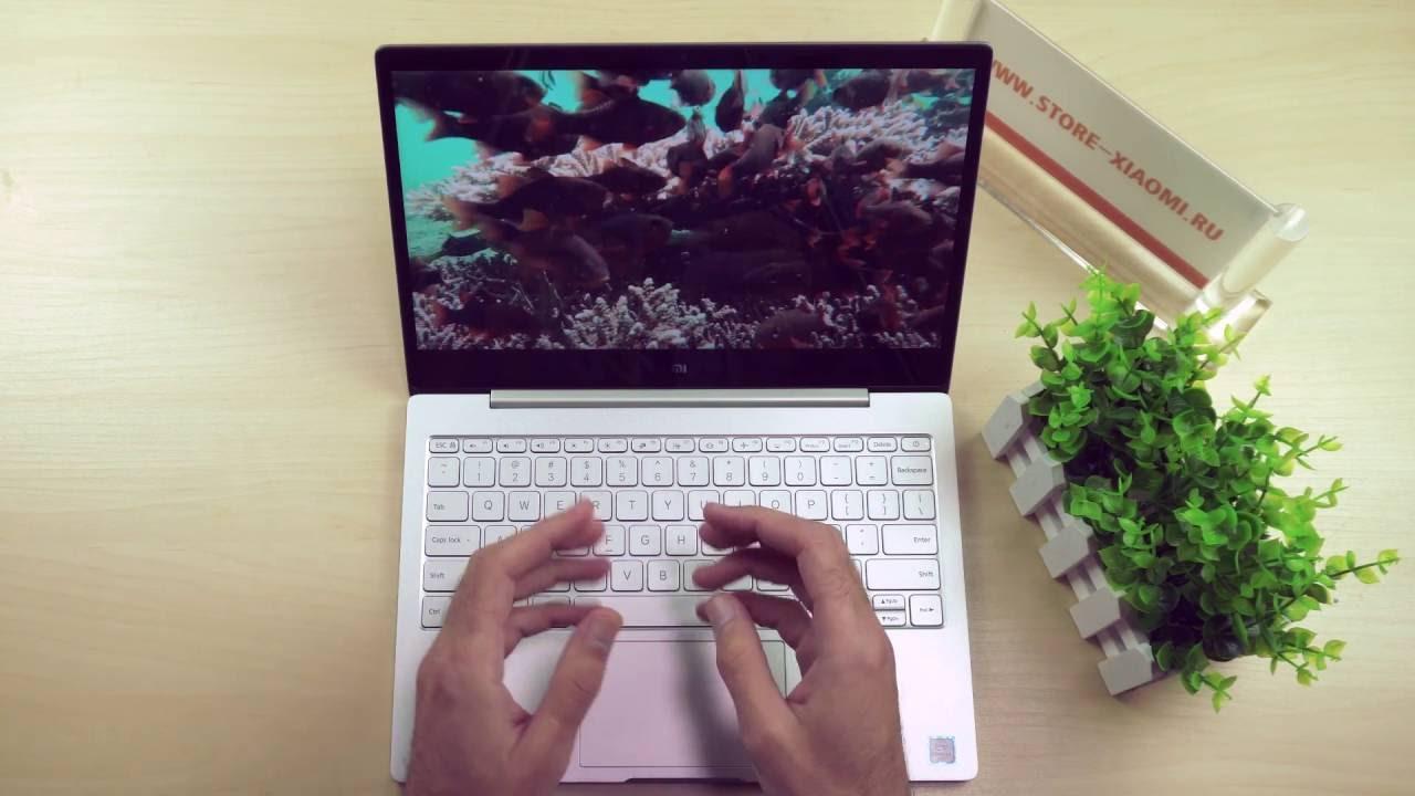 Xiaomi MiBook лазерная гравировка клавиатуры | gravus.com.ua - YouTube
