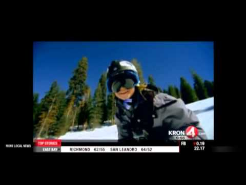 Warren Miller Flow State: KRON 4 San Francisco, Sports Anchor Gary Radnich interviews Aspen Spora