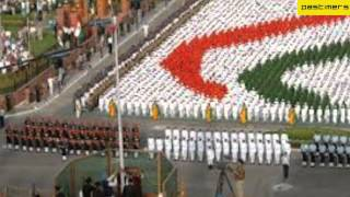 March Past on Indian Independence Day 2012