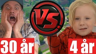 PAPPA vs. SON - ROND 2 [Fortnite]