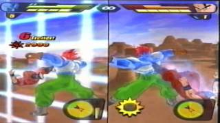 DBZ BT2 Cyborg 13 (me) vs Ultimate Gohan (GameZockerXXL)