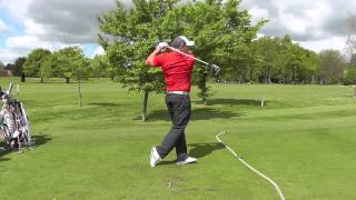 World Long Drive Champ Joe Miller swing sequence