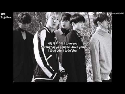 B1A4 - Together (Hangul, Romanization, Eng Sub)