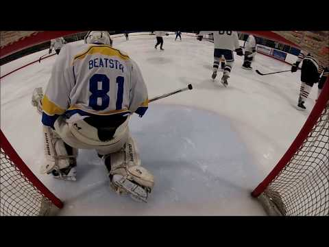 Beer League Hockey Bender Goaltender Highlights.. What no interference?