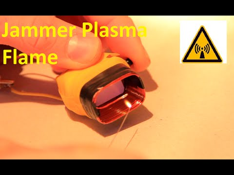 High Power EMP Jammer / Plasmaflame