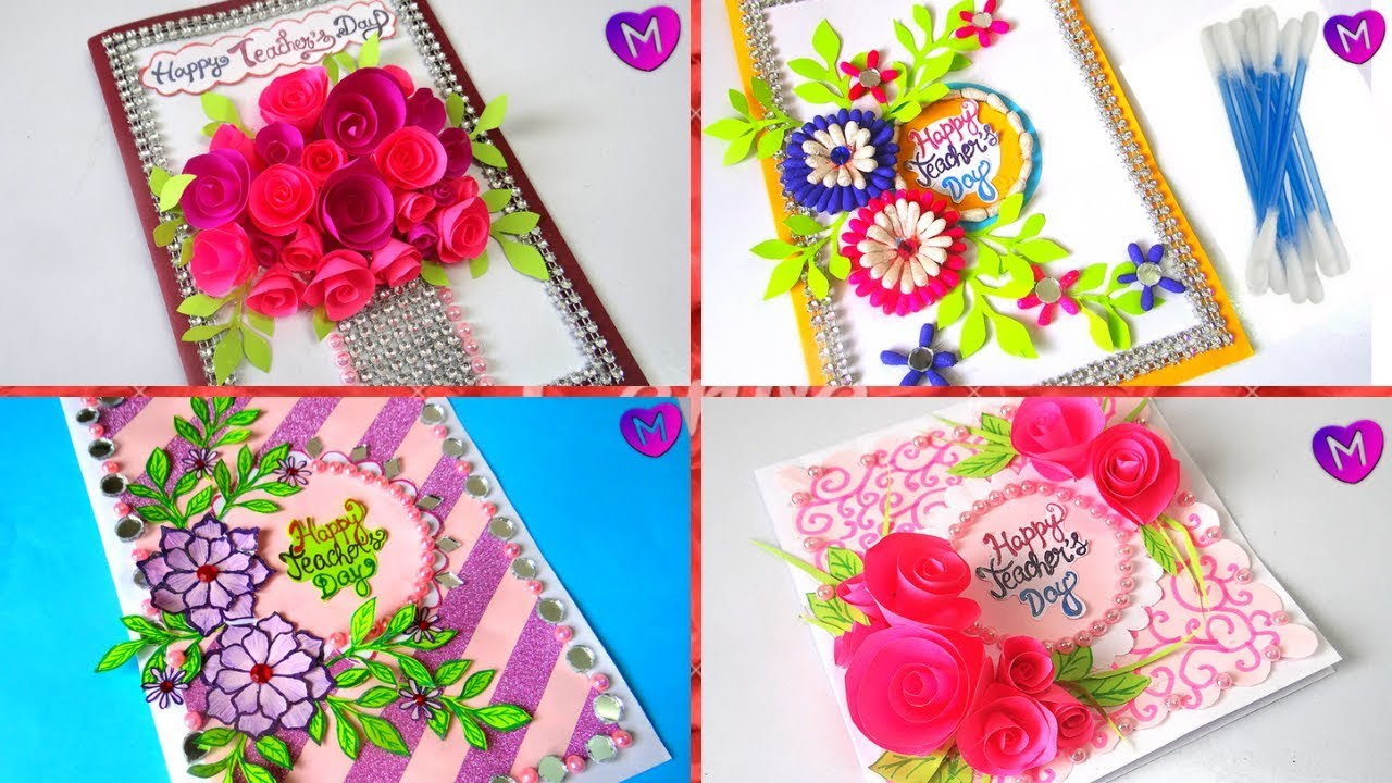 How To Make Greeting Cards For Teachers Day 5 Latest Design