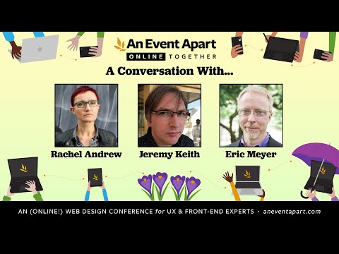 A Live Interview with Rachel Andrew and Jeremy Keith