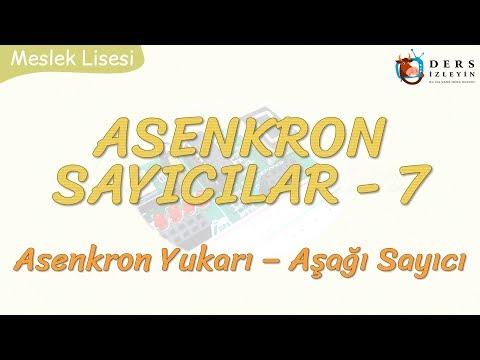 ASENKRON SAYICILAR - 7 / ASENKRON YUKARI - AŞAĞI SAYICI
