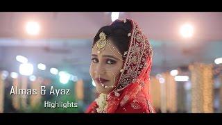 Almas & Ayaz Wedding Reception Highlights