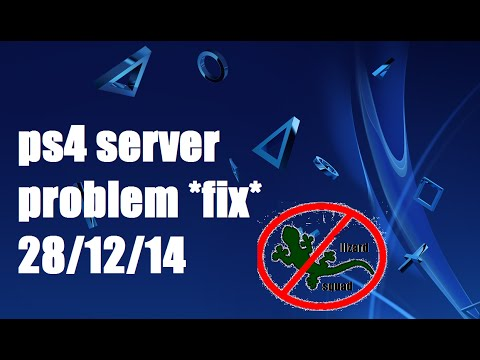 How To Fix (PS4) Dns Server Problem (LIZARD SQUAD)