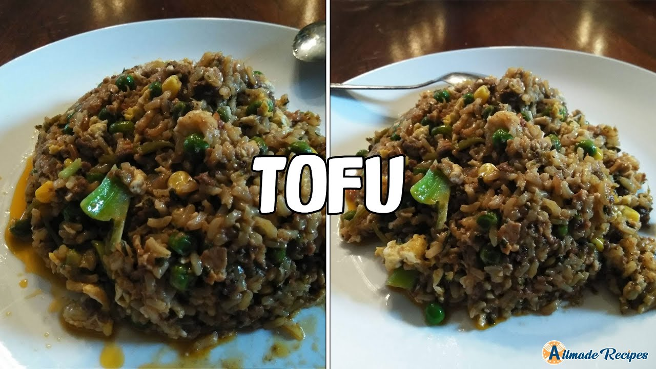 Vegan Instant Pot® Tofu Vegetable Rice | Side Dish Recipes