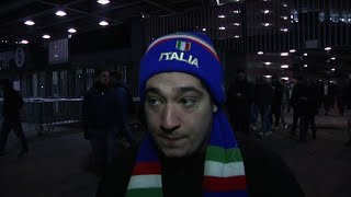 Football: les Italiens sous le choc après l'élimination