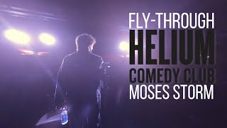 Drone Fly-Throughs Helium Comedy Club