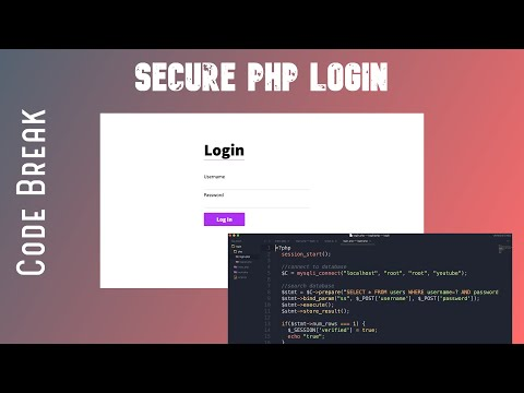 How To Make A Secure Login With PHP