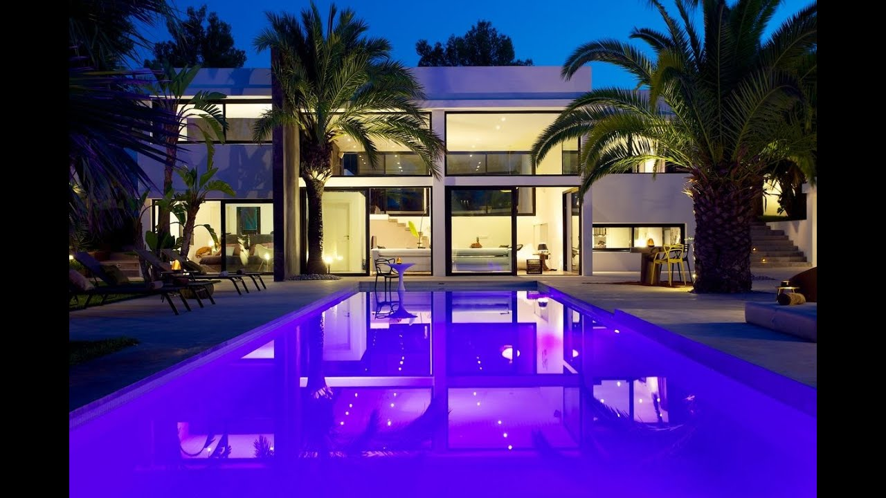 Ibiza rentals villa with pool and exotic garden ibiza - Villa con piscina milano ...
