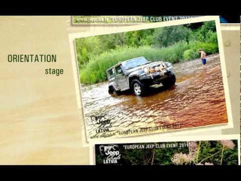 Jeep Club Latvia International Event - Summer 2012 - INVITATION video