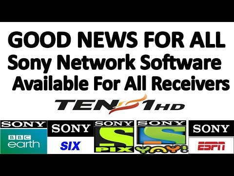Sony network New software for all receivers at Asiasat 7