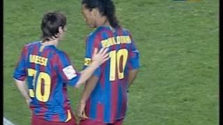 La liga 2005/2006. round 8. 22 oct 2005