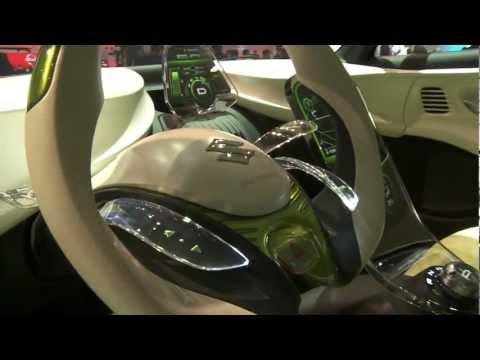 Live from Geneva 2012 Suzuki's booth (Suzuki Regina)