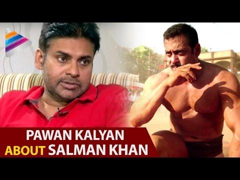 Pawan Kalyan about Salman Khan | Sardar Gabbar Singh Interview | Kajal | DSP | Telugu Filmnagar