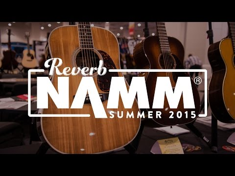 C.F. Martin & Co. 50th Anniversary D-35 and More Custom Shop Creations at Summer NAMM 2015