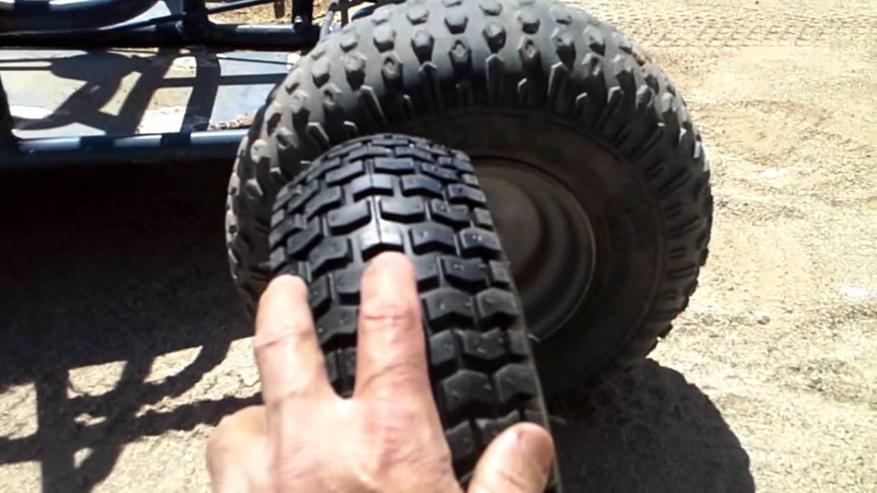 My Kids Go Kart Wheel Tire Dilemma Youtube