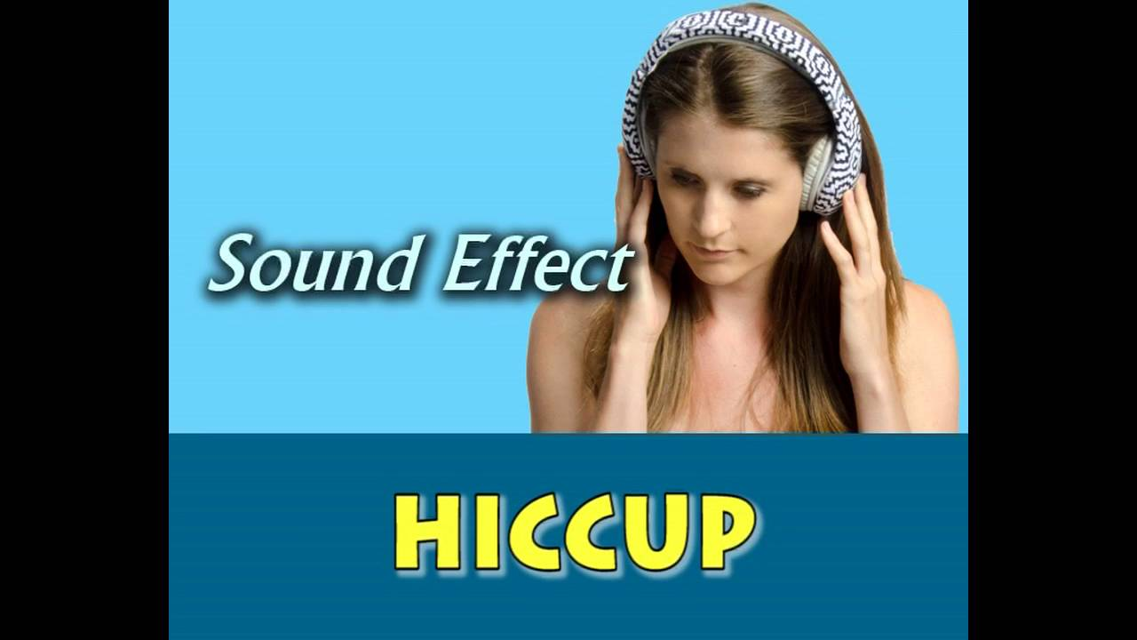 hiccup sound effect - YouTube