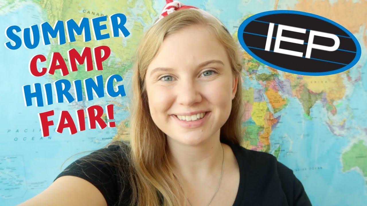 summer camp usa hiring fair - YouTube
