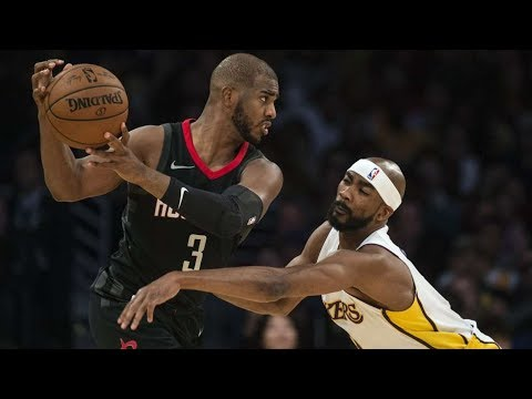 James Harden, CP3 Get cy vs Lakers! 7 Game Win Streak! Rockets vs Lakers 201718 Season