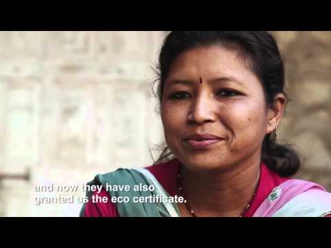Laxmi is a female entrepreneur from Nepal