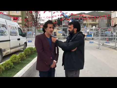 Muharrem İnce'nin mitingi öncesi Hakkari Haber Genel Yayın Yönetmeni Hakan Taş ÖZGÜRÜZ'e konuştu