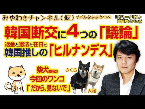 韓国断交に4つの「議論」。返金と憲法と在日と韓国推しの「ヒルナンデス」|みやわきチャンネル(仮)#329