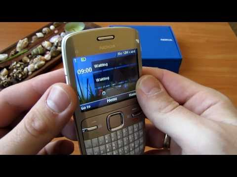 Nokia C3 Обзор [HD]