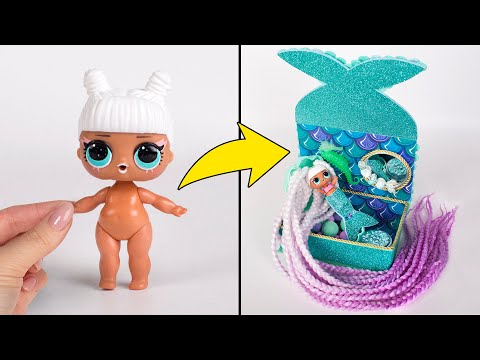 How To Transform Any L.O.L. Doll Into A Beautiful Mermaid