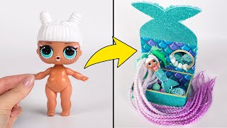 L.O.L. Into Mermaid Magical Makeover Video