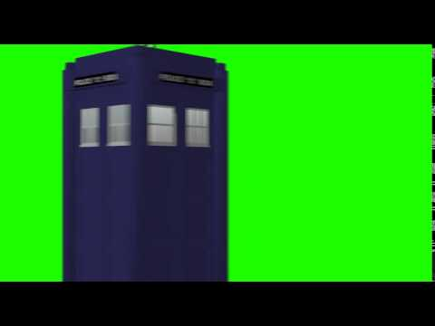 TARDIS CGI GREEN SCREEN ELEMENT 01 - FREE FOR PUBLIC USE-