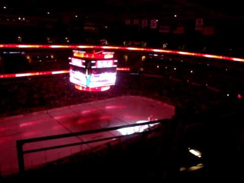 Intro before the game Capitals vs....