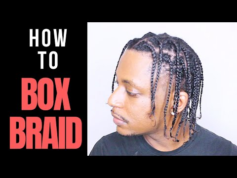 How To Do Your Own Box Braids For Beginners