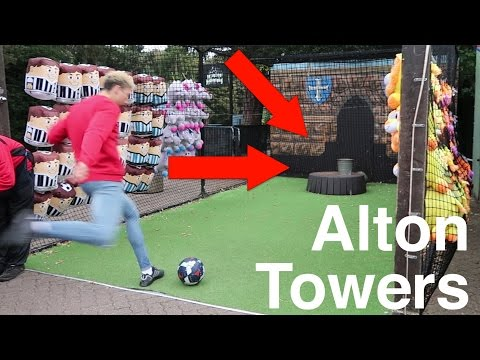 THE ALTON TOWERS CHALLENGE!!