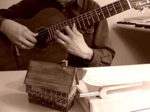 Hạ Trắng. Trịnh Công Sơn. Đỗ Đình Phương. Classical Requinto Guitar, davincivo