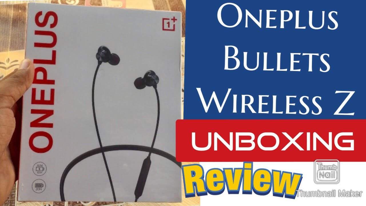 Oneplus Bullets Wireless Z earphone Unboxing and quick review by Techcategory