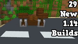 29 NEW Builds Only Possible In Minecraft 1.14