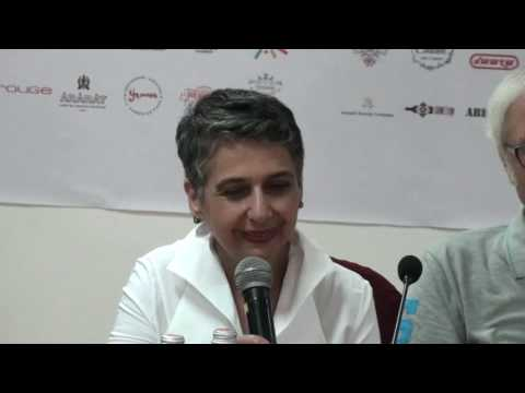 Closing Press Conference – Juries with Harutyun Khachatryan, Director of the festival