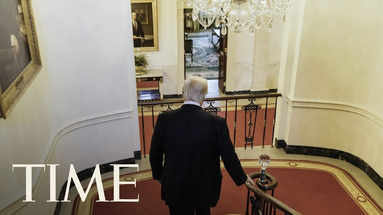 President Trump After Hours Inside S Guided Tour Of The White House Residence Time