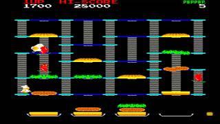 ARCADE MACHINES MAME BURGER TIME BURGERTIME 1982 DATA EAST CORPORATION