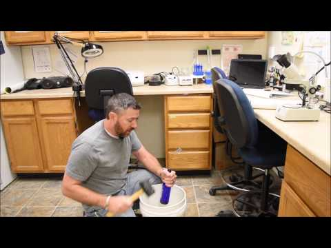 Breaking Glass Bottle Bottoms