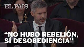 JUICIO PROCÉS | Las defensas de Junqueras, Romeva y Forn descartan la rebelión