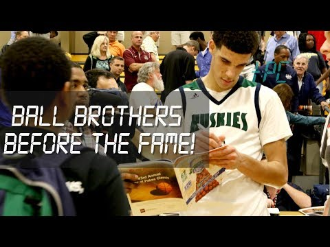 Ball Brothers Dominate 1st Game At City Of Palms! Lonzo Goes Off