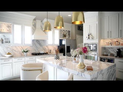 All White Kitchen Reveal- MissLizHeart