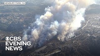 California's Camp Fire forces thousands to evacuate